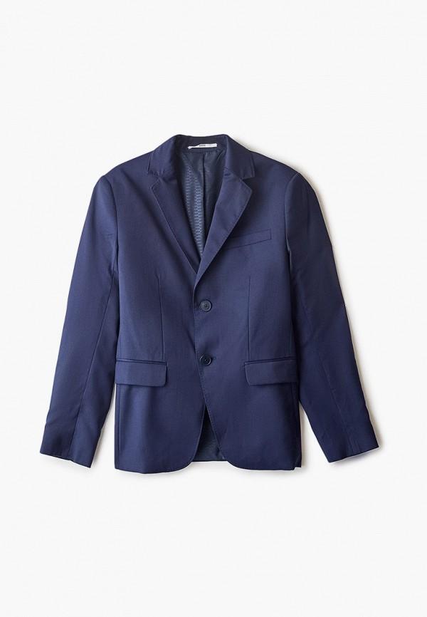пиджак boss для мальчика, синий