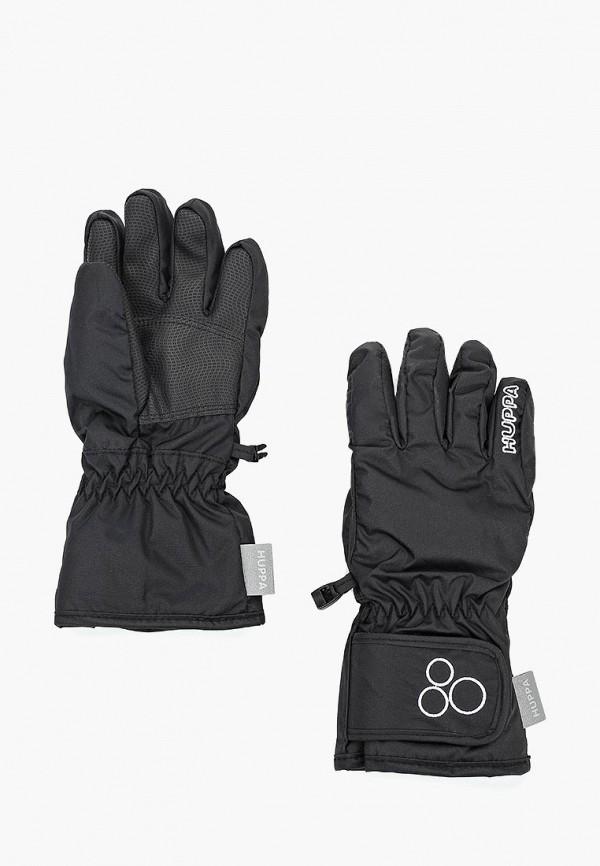 перчатки huppa для мальчика, черные