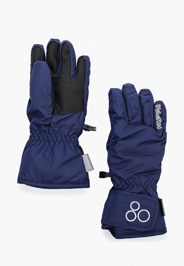перчатки huppa для мальчика, синие
