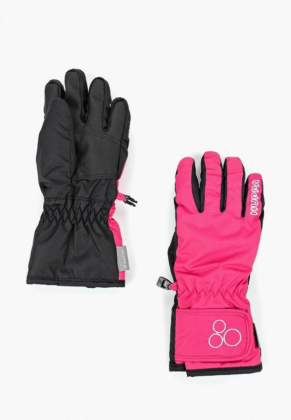 перчатки huppa для девочки, розовые