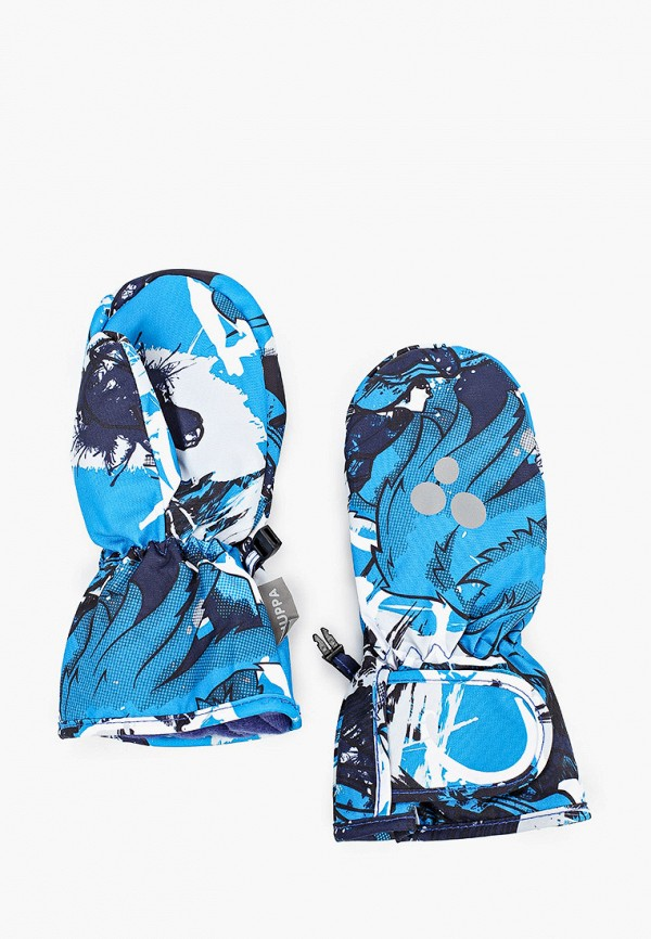 варежки huppa малыши, голубые
