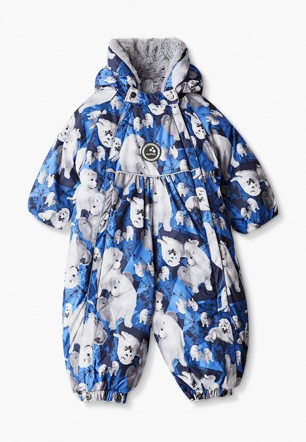комбинезоны и костюмы huppa для мальчика, синие