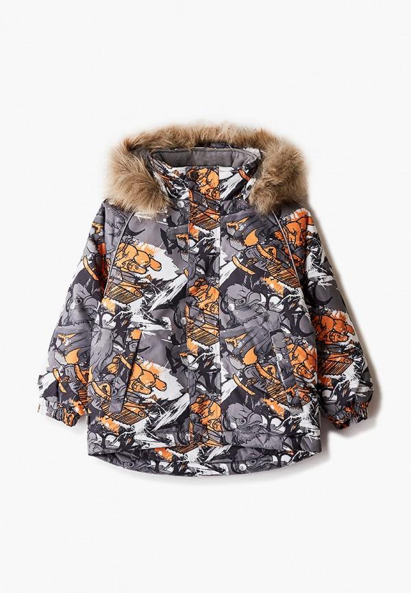 куртка huppa для мальчика, серая
