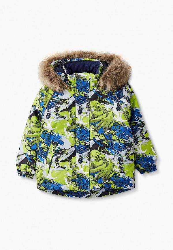 куртка huppa для мальчика, зеленая