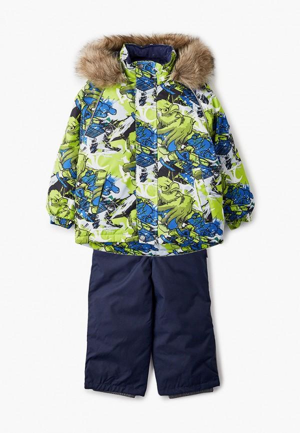 комбинезоны и костюмы huppa для мальчика, разноцветные