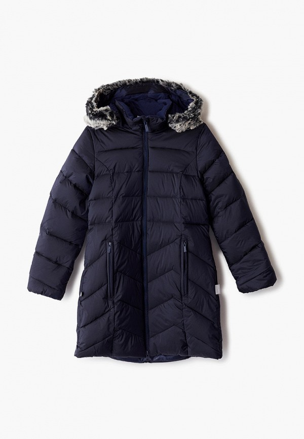 куртка huppa для девочки, синяя