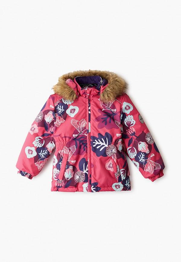 куртка huppa для девочки, розовая