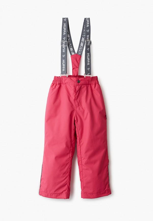 брюки huppa для девочки, розовые