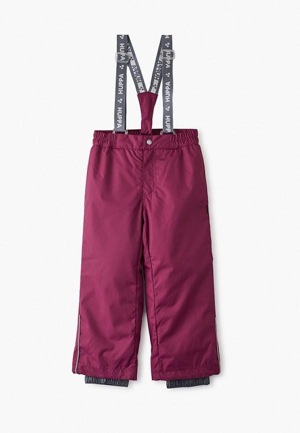 брюки huppa для девочки, фиолетовые