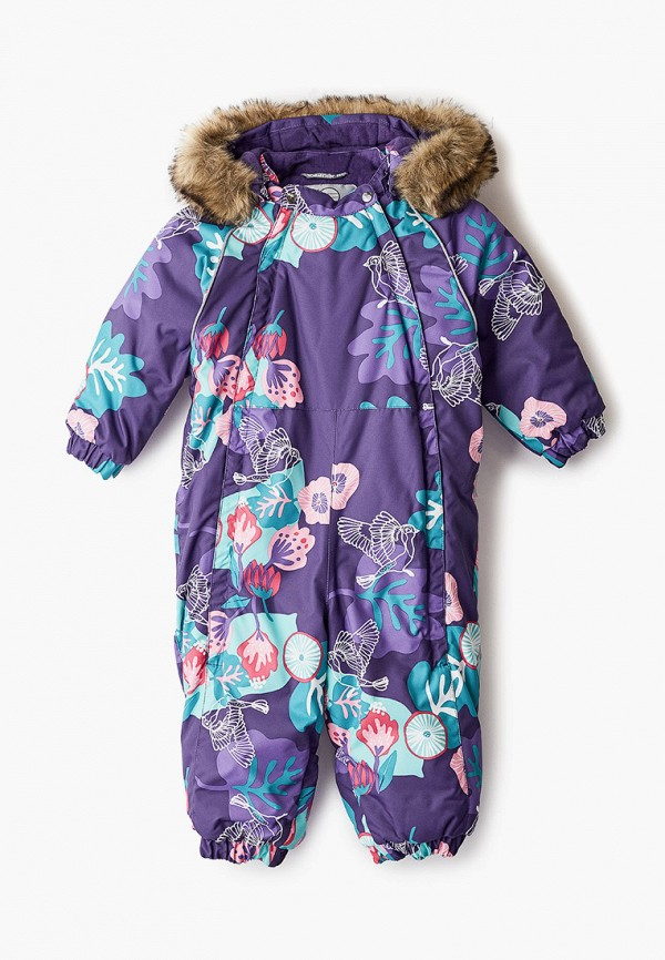 комбинезон huppa для девочки, фиолетовый