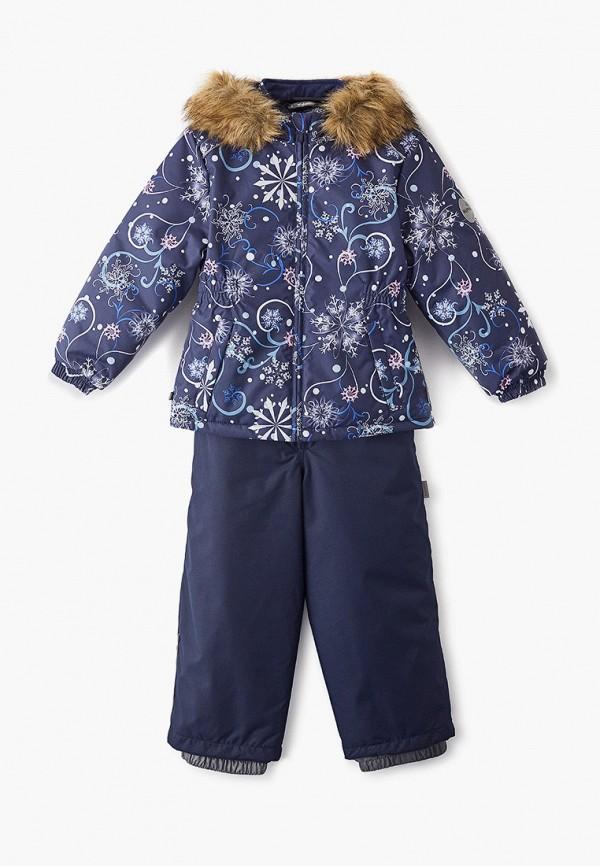 костюм huppa для девочки, синий