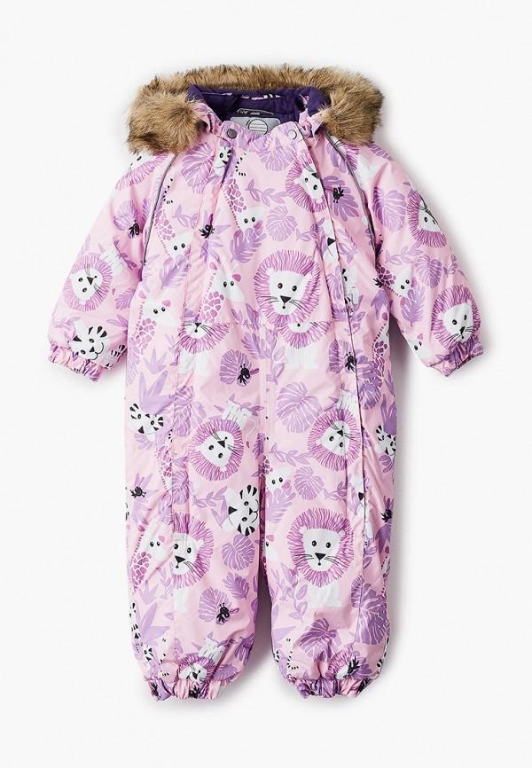 комбинезоны и костюмы huppa для девочки, розовые