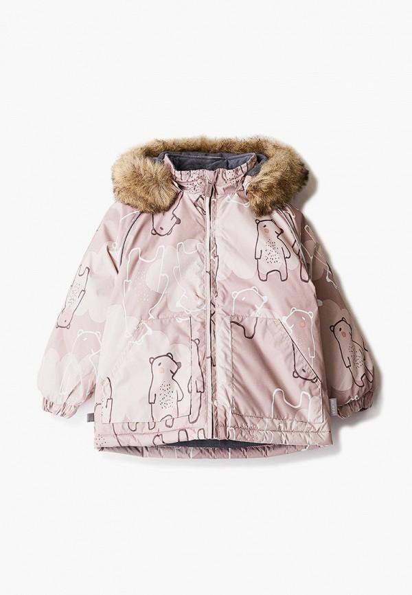 куртка huppa для девочки, бежевая