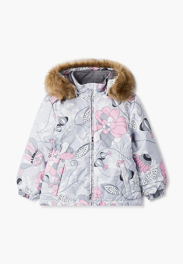 куртка huppa для девочки, серая