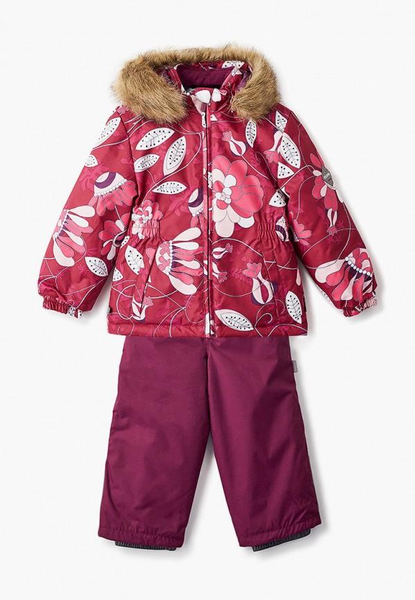 комбинезоны и костюмы huppa для девочки, бордовые