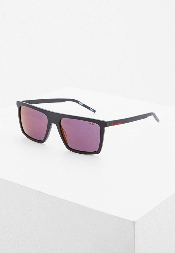 мужские солнцезащитные очки hugo, черные