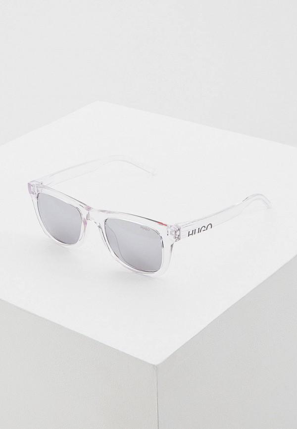 мужские солнцезащитные очки hugo, серебряные