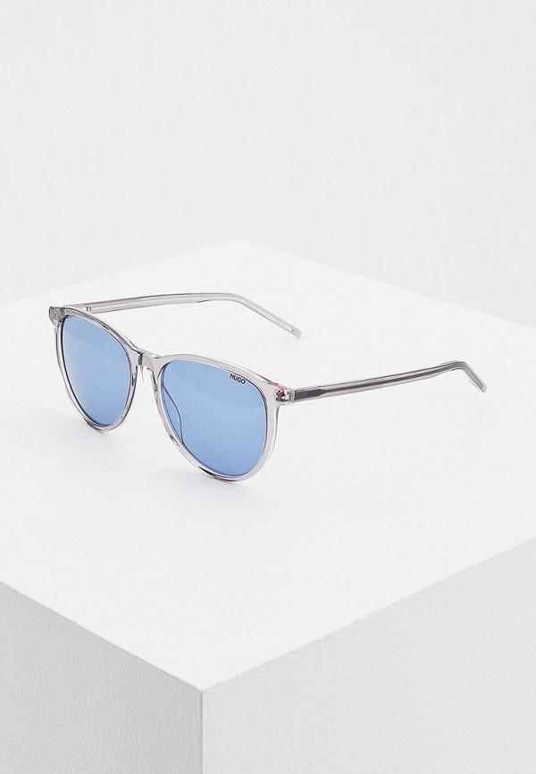 мужские солнцезащитные очки hugo, серые