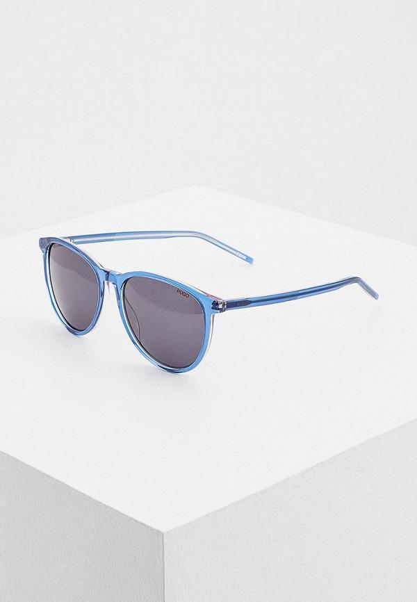 мужские солнцезащитные очки hugo, синие