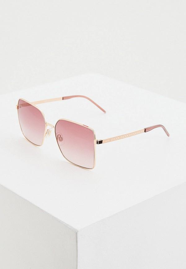 женские солнцезащитные очки hugo, золотые