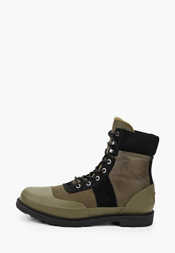 мужские ботинки hunter, хаки