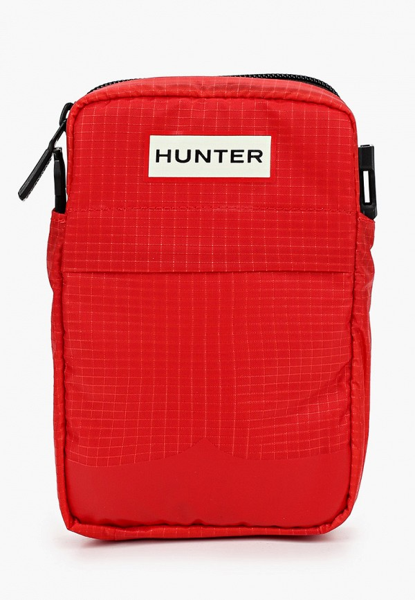 женская сумка hunter, красная