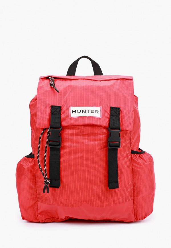 женский рюкзак hunter, красный