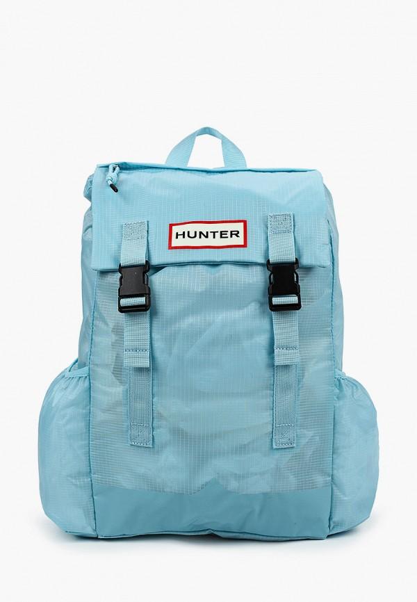 женский рюкзак hunter, голубой