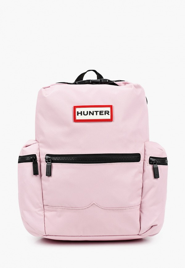 женский рюкзак hunter, розовый