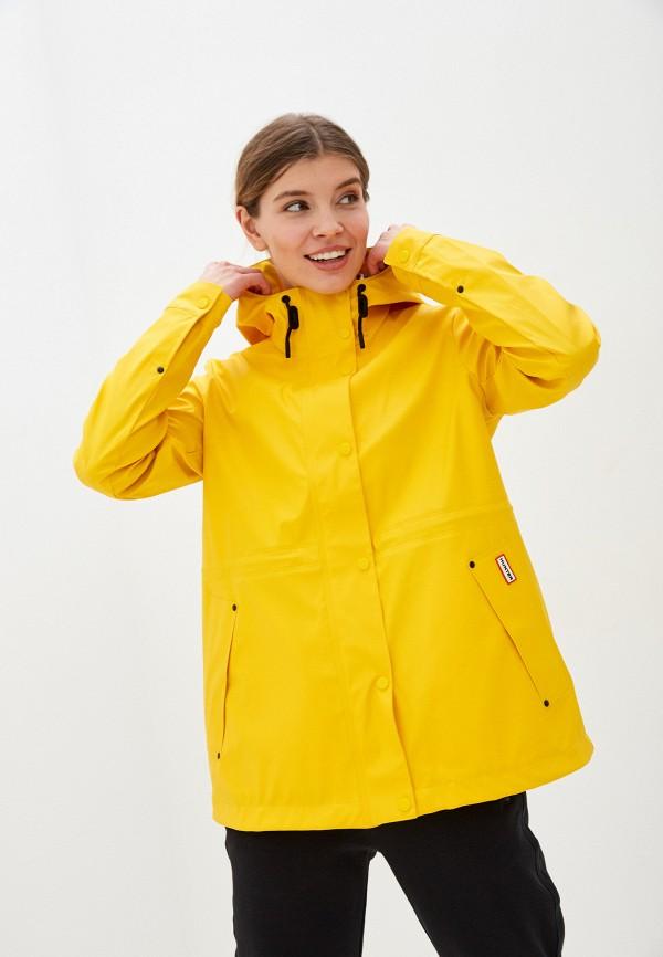 женская легкие куртка hunter, желтая
