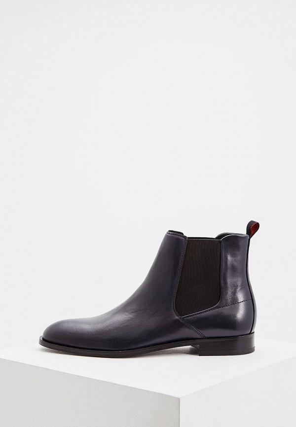 мужские ботинки hugo boss, синие