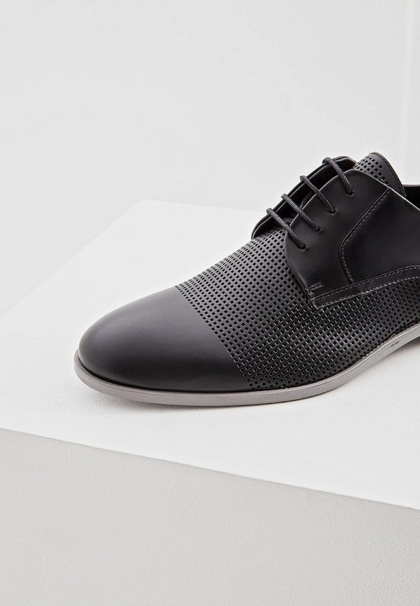 Фото 2 - мужские туфли Hugo черного цвета