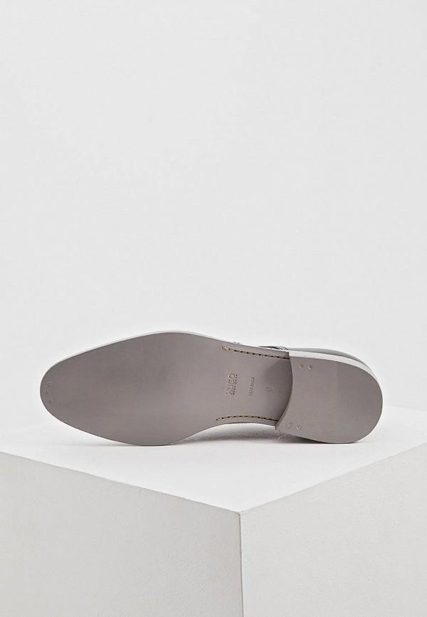 Фото 3 - мужские туфли Hugo черного цвета