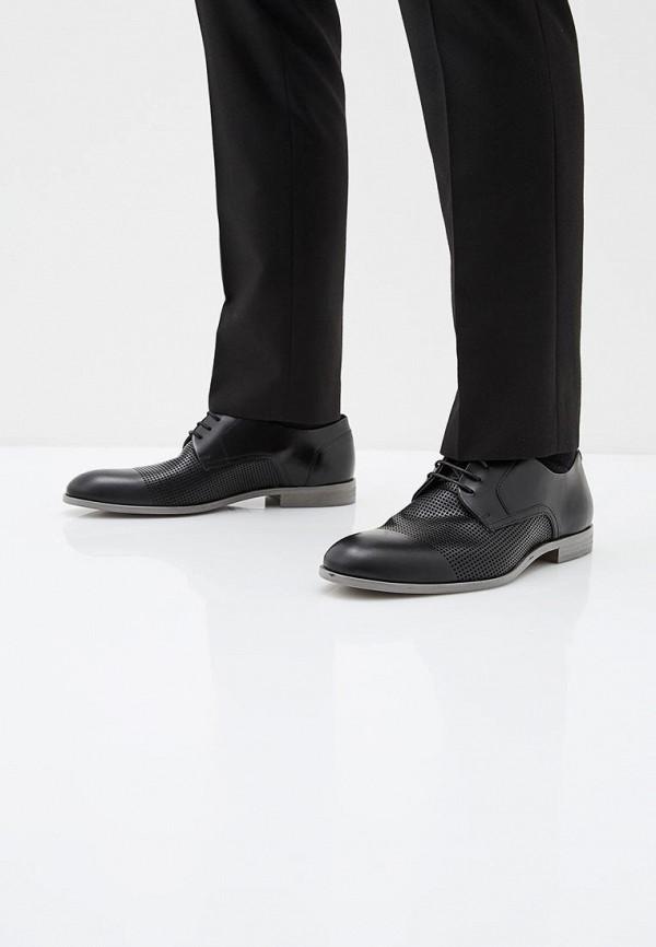 Фото 6 - мужские туфли Hugo черного цвета