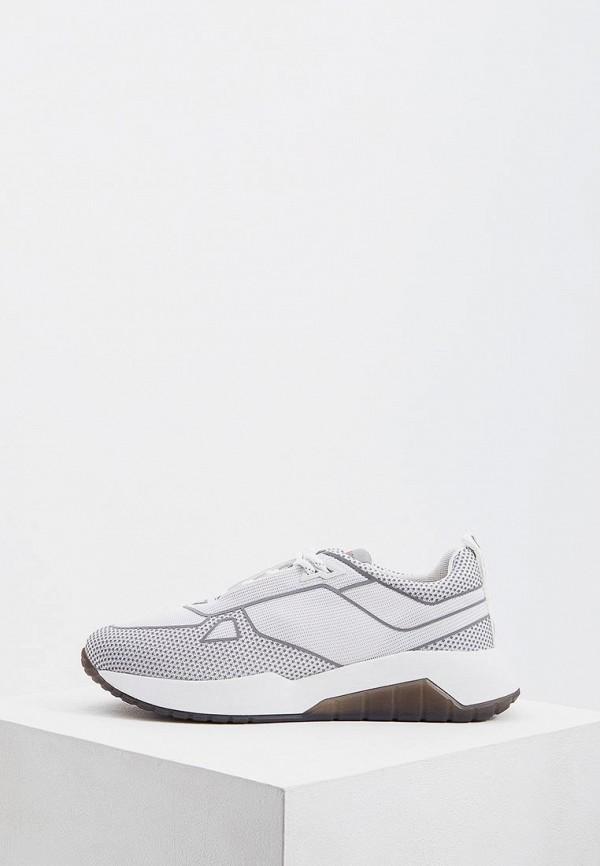 мужские кроссовки hugo boss, белые