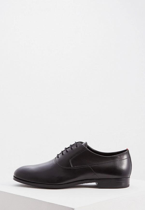 мужские туфли hugo, черные