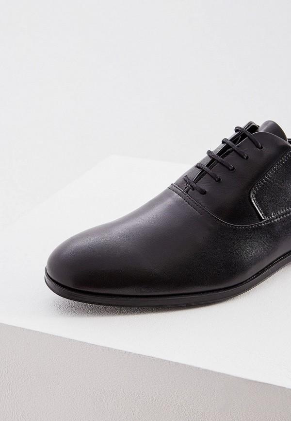 Фото 4 - мужские туфли Hugo Hugo Boss черного цвета