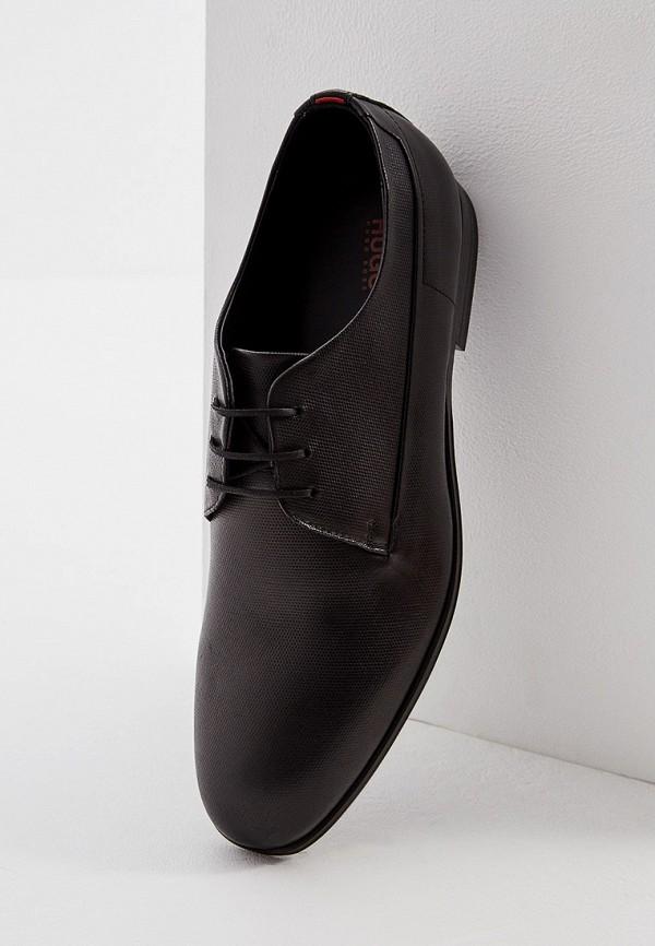 Фото 2 - мужские туфли Hugo Hugo Boss черного цвета