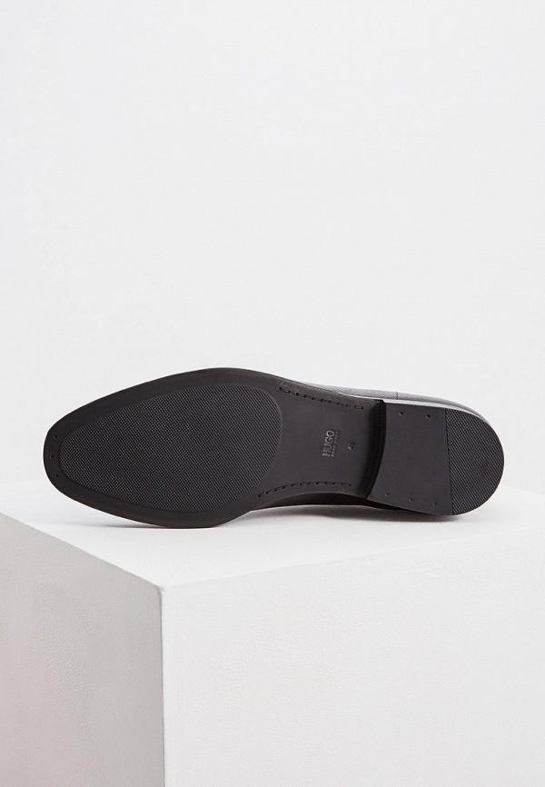 Фото 3 - мужские туфли Hugo Hugo Boss черного цвета