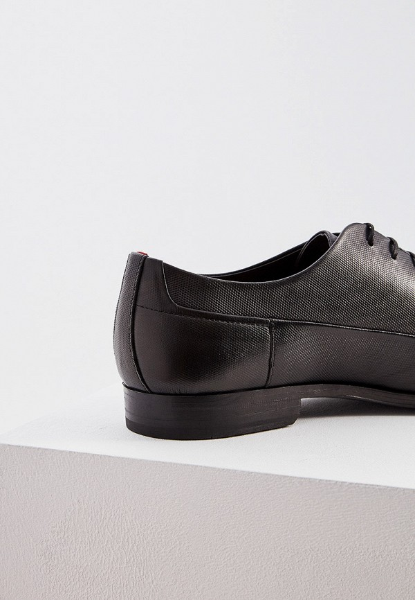 Фото 5 - мужские туфли Hugo Hugo Boss черного цвета