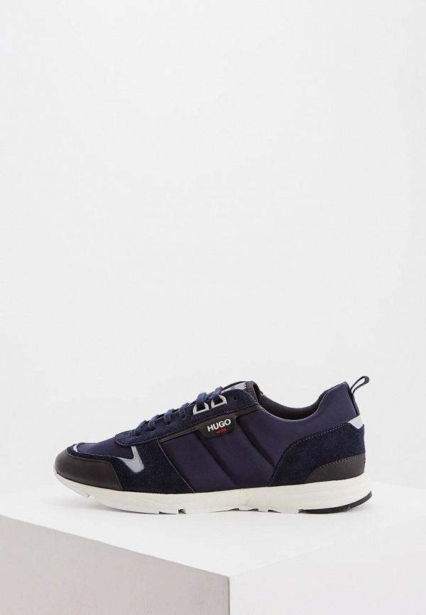 мужские кроссовки hugo, синие