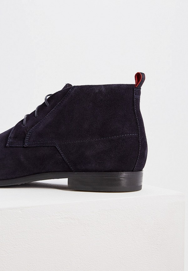Фото 4 - Ботинки Hugo синего цвета