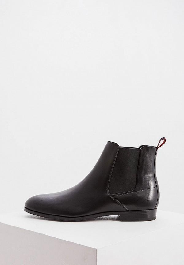 мужские ботинки hugo, черные