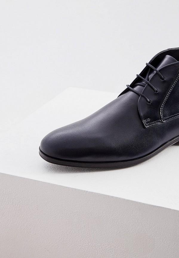 Фото 2 - мужские ботинки и полуботинки Hugo Hugo Boss синего цвета