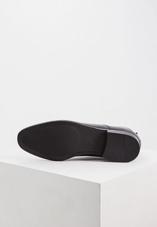 Фото 3 - мужские ботинки и полуботинки Hugo Hugo Boss черного цвета