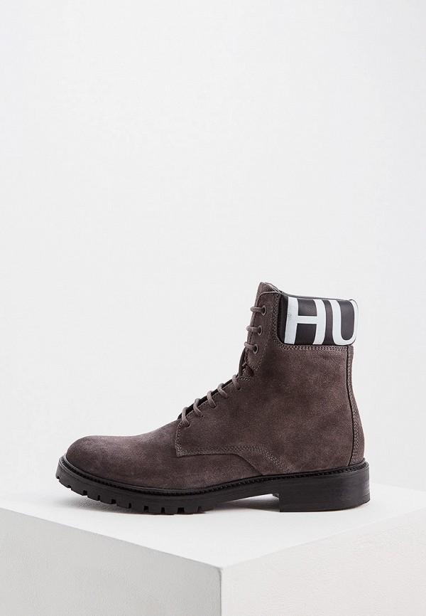 мужские ботинки hugo boss, серые