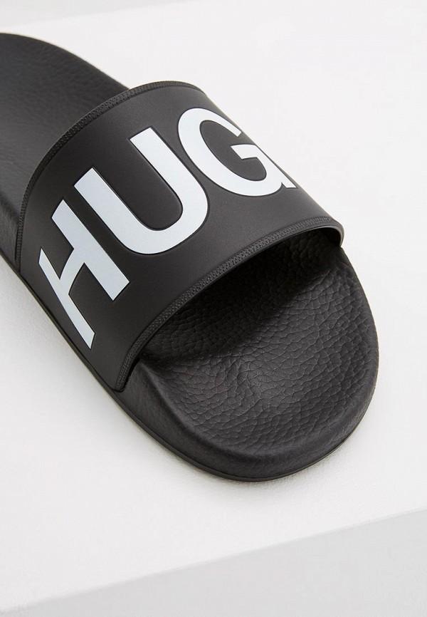 Фото 4 - Сланцы Hugo Hugo Boss черного цвета