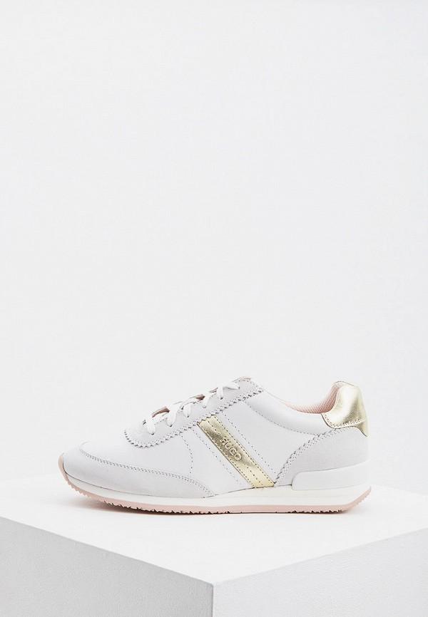 женские кроссовки hugo boss, белые