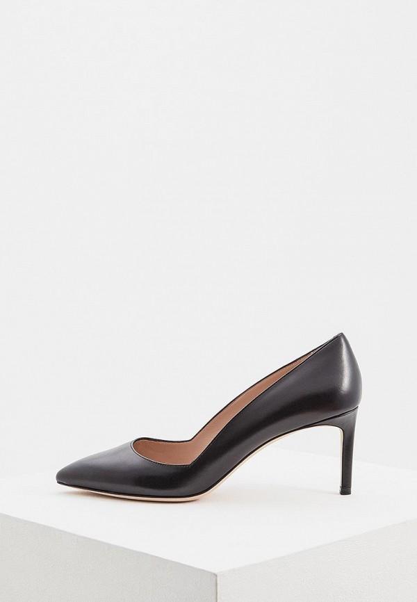 женские туфли hugo boss, черные