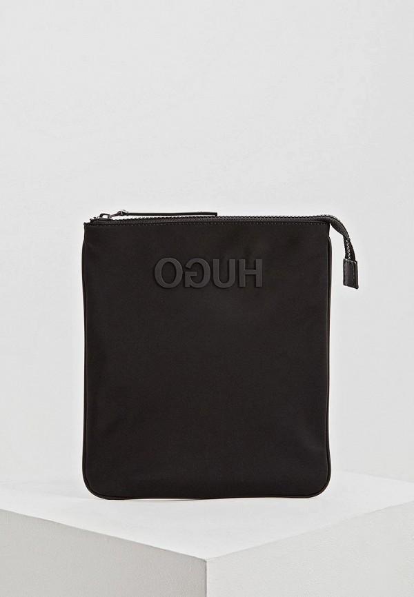 мужская сумка hugo boss, черная